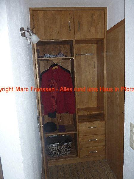 Fertige Garderobe